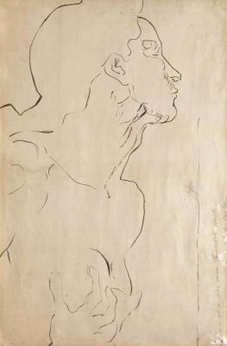 Ferdinand Hodler - Study for 'Feeling I'