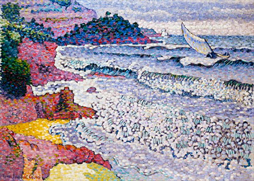 Henri-Edmond Cross - The Choppy Sea