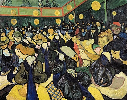 Vincent van Gogh - The Dance Hall at Arles