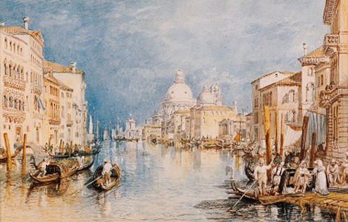 Joseph Mallord William Turner - The Grand Canal, Venice