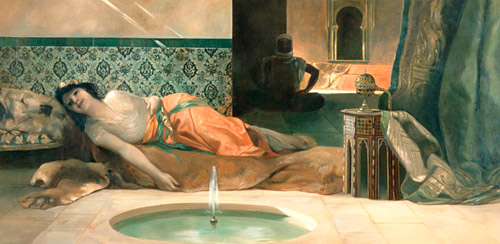 Benjamin Constant - The Odalisque