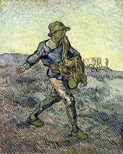 The Sower (after Millet)