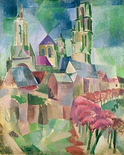 Robert Delaunay - The Towers of Laon