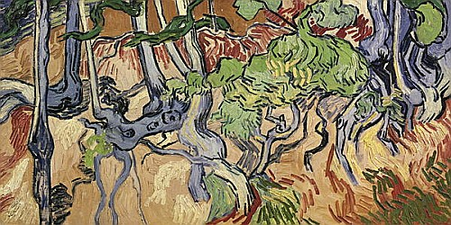 Vincent van Gogh - Tree roots