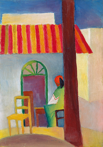 August Macke - Turkish Café I