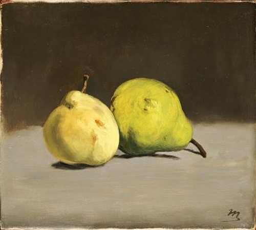 Edouard Manet - Two Pears