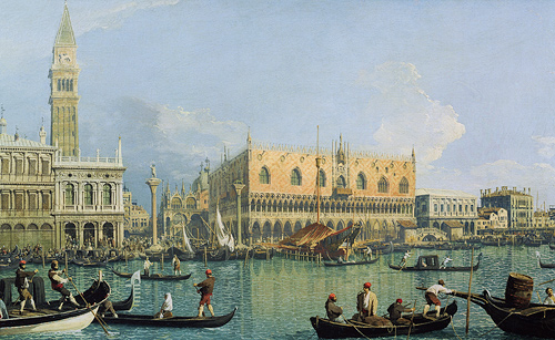 Giovanni Antonio Canal Canaletto - Venice Ducal Palace