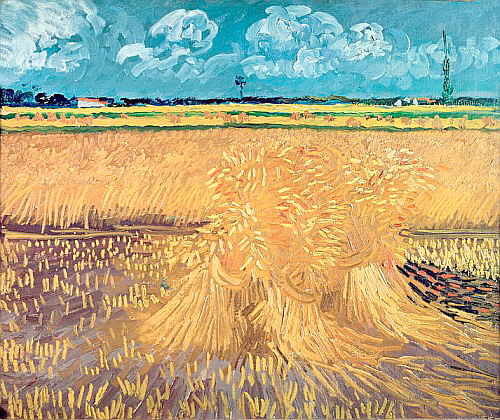 Vincent van Gogh - Wheatfield with Sheaves