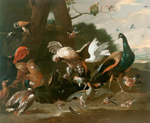 Melchior Hondecoeter - World of birds