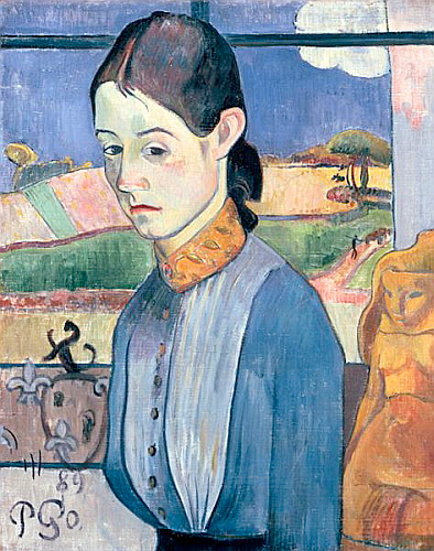 Paul Gauguin - Young Breton Woman