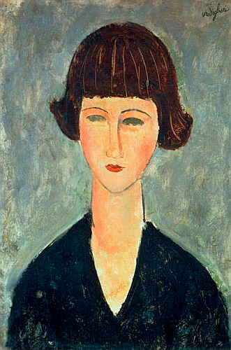 Amadeo Modigliani - Young Brunette