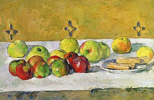 Paul Cézanne - Apples and Biscuits