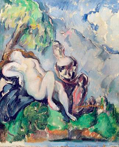 Paul Cézanne - Bathsheba