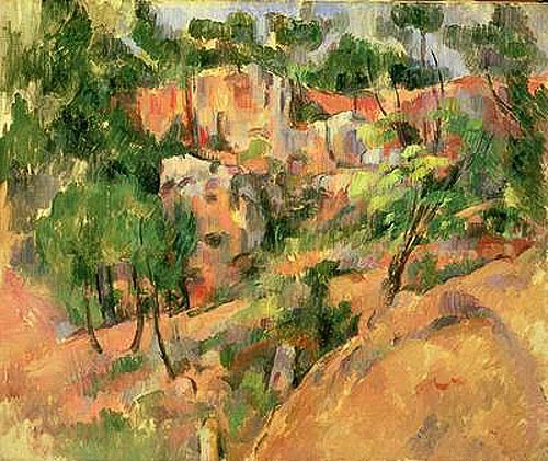 Paul Cézanne - Corner of Quarry