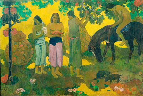 Paul Gauguin - Fruit Gathering