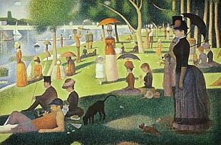 Georges-Pierre Seurat - Sunday afternoon at island Grande Jatte