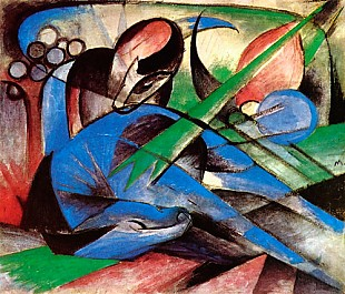 Franz Marc - Dreaming horse