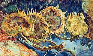 Vincent van Gogh - Four cutted sunflowers