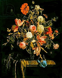 Jan van Huysum - Flower Still Life