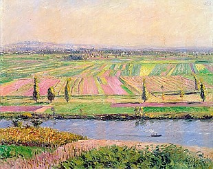 Gustav Caillebotte - The Plain of Gennevilliers from the Hills of Argenteuil