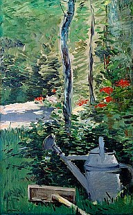 Edouard Manet - The Watering Can