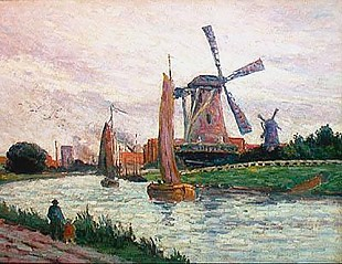 Maximilien Luce - The Windmill