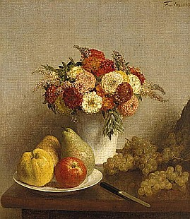 Thédore Fantin-Latour - Flowers and Fruit