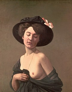 Felix Vallotton - Lady in a Hat