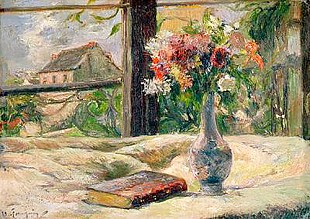 Paul Gauguin - Vase of Flowers