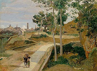 Jean Baptiste Camille Corot - Road from Volterra