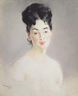 Edouard Manet - Bust of a Young Female Nude