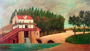 Henri Rousseau - The Watermill