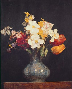 Thédore Fantin-Latour - Narcissi and Tulips