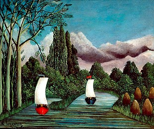 Henri Rousseau - The Banks of the Oise