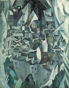 Robert Delaunay - The Town No.2
