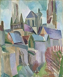 Robert Delaunay - Towers of Laon