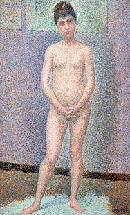 Georges-Pierre Seurat - Model from the Front