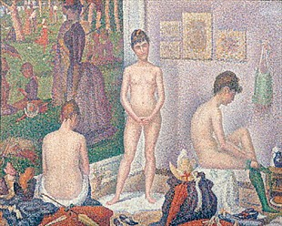 Georges-Pierre Seurat - The Models