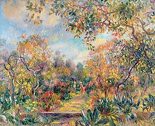 Pierre-Auguste Renoir - Landscape at Beaulieu
