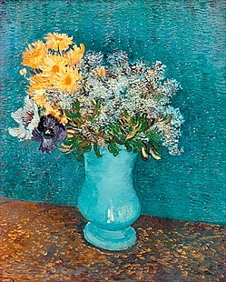 Vincent van Gogh - Vase of Flowers
