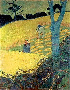 Paul Serusier - Harvest Scene