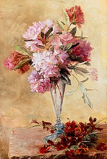 Marie Egner - Flower stillife