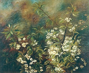 A. Christiansen - Blooming cherry arm