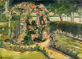 Max Liebermann - Rose garden