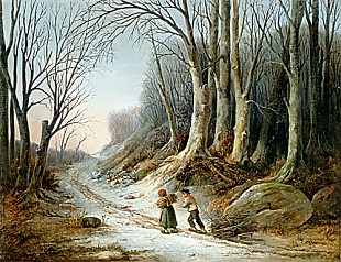 Christian Andreas Schleisner - The little timber collectors