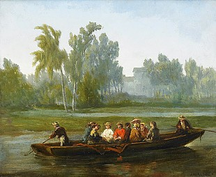 Jan Michiel Ruyten - Boat trip in summer