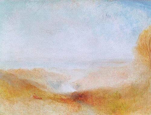 Joseph Mallord William Turner - Landscape with a River and a Bay in the Distance