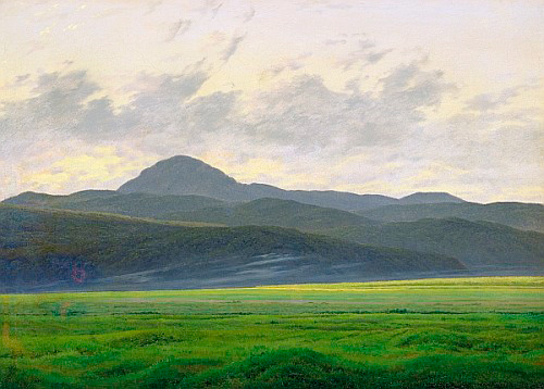 Caspar David Friedrich - Mountainous landscape