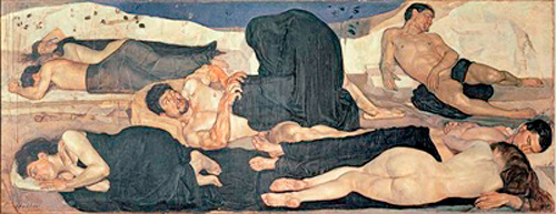 Ferdinand Hodler - Night