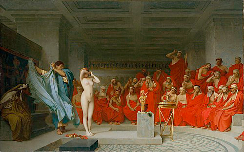 Jean-Léon Gérôme - Phryne Before the Jury